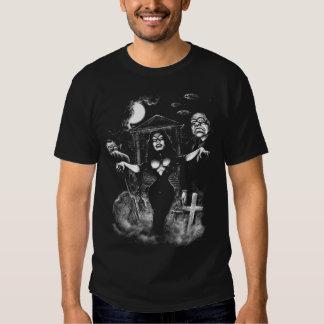 Vampira Plan 9 zombies T Shirt