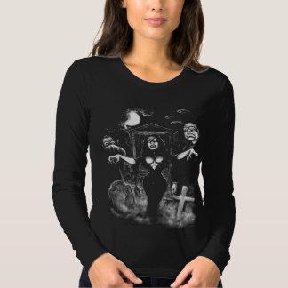 Vampira Plan 9 zombies Tee Shirt