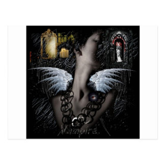 Vampira Postcard