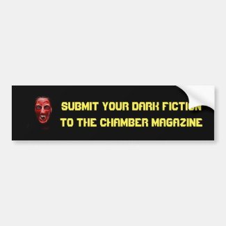 Vampire 1 Submit Your Dark Fiction Bumper Sticker