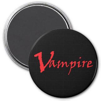 Vampire 3 Inch Round Magnet