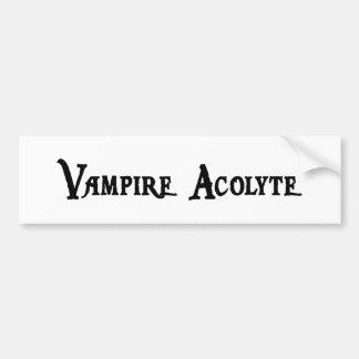 Vampire Acolyte Bumper Sticker
