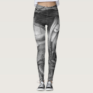 Vampire All Over Leggings Goth Leggings