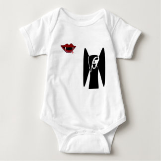 vampire and mouth baby bodysuit
