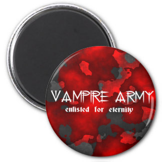 Vampire Army Gothic Humor Fridge Magnets