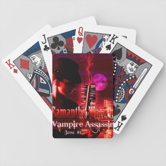 Vampire Assassin Playing Cards