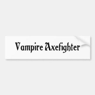 Vampire Axefighter Bumper Sticker