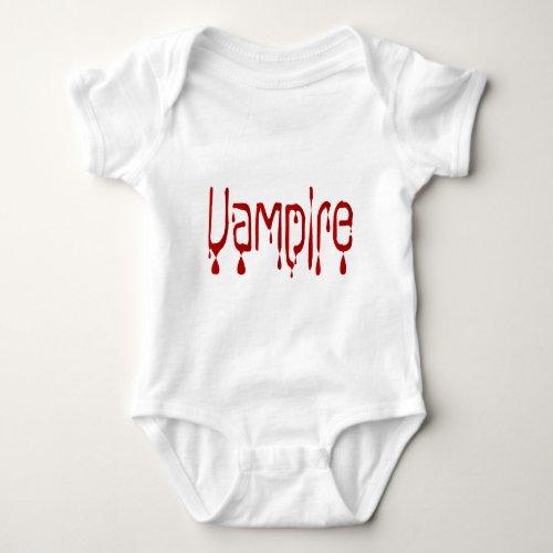 Vampire Baby Bodysuit