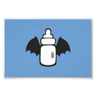 Vampire Baby bottle Photographic Print