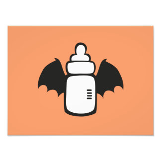 Vampire Baby bottle Photo Art