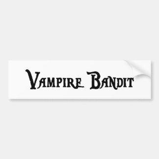 Vampire Bandit Bumper Sticker