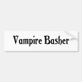 Vampire Basher Bumper Sticker