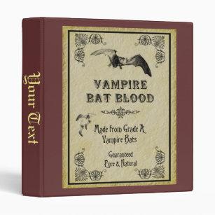 Vampire Bat Blood Binder