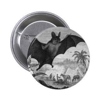 Vampire Bat Button