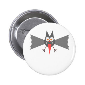 Vampire Bat by Chillee Wilson Pinback Button