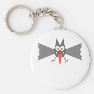 Vampire Bat by Chillee Wilson Keychain