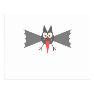 Vampire Bat by Chillee Wilson Postcard