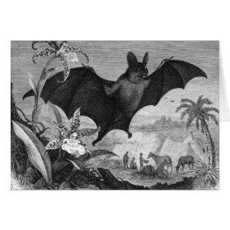 Vampire Bat Card