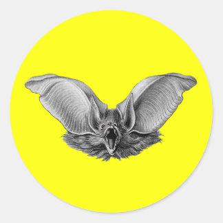 Vampire ? Bat ? Classic Round Sticker