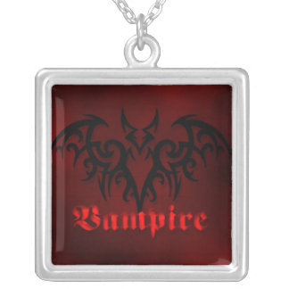 Vampire Bat Goth Necklace