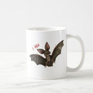 """Vampire Bat """"i bite"""" Mug"""