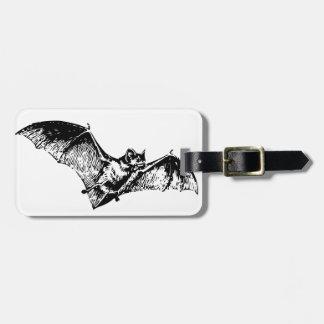 Vampire Bat in Flight Luggage Tag