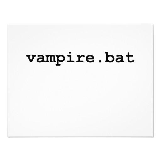 Vampire.bat Invitaciones Personales