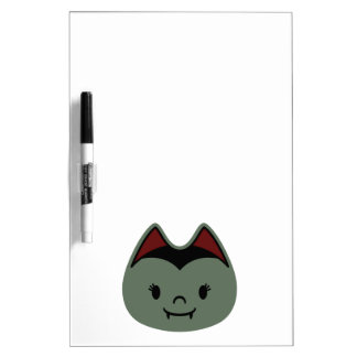 Vampire Bat Kids Dry-Erase Board