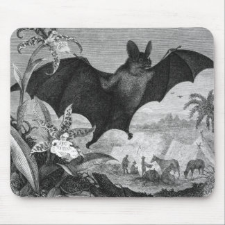 Vampire Bat Mouse Pad