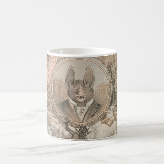 Vampire Bat Portrait Classic White Coffee Mug