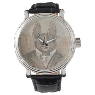 Vampire Bat Portrait Wrist Watch