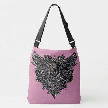 Halloween Themed Vampire bat printed tote purse Halloween
