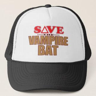 Vampire Bat Save Trucker Hat