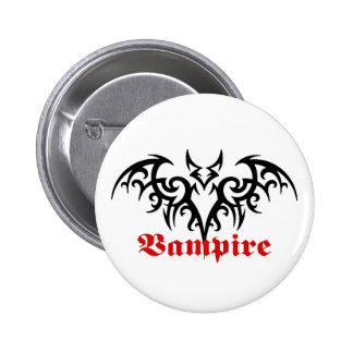 Vampire Bat tribal button