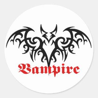 Vampire Bat tribal sticker