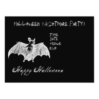 Vampire Bat Wishes 6.5x8.75 Paper Invitation Card