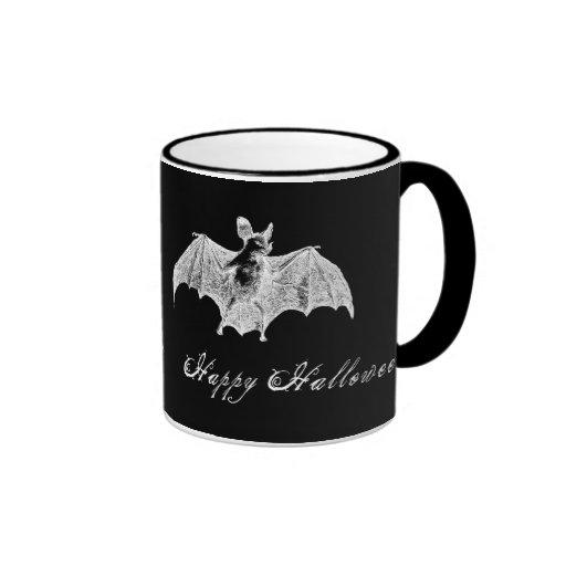 Vampire Bat Wishes Ringer Mug