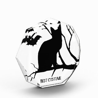 Vampire Bats Cat Custom Best Halloween Costume Acrylic Award