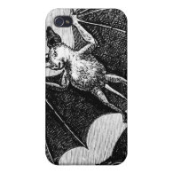 Vampire Bats iPhone 4/4S Case