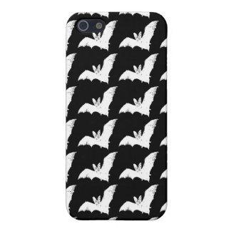 Vampire Bats iPhone 4 Case (Black & White)