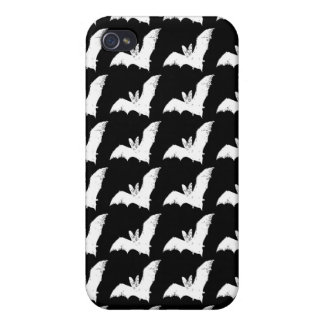 Vampire Bats iPhone 4 Case Black White