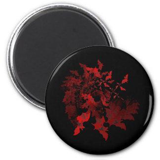 Vampire Bats Red Refrigerator Magnet
