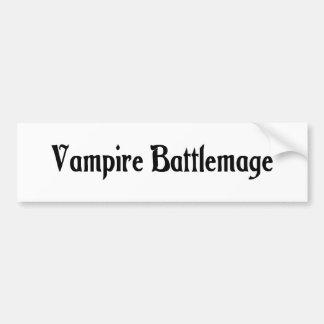 Vampire Battlemage Bumper Sticker