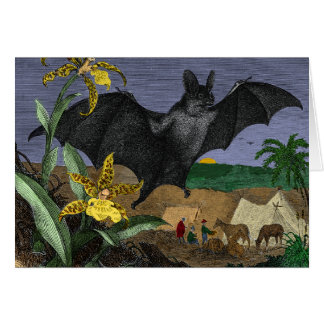 Vampire Big Flying Mouse Card