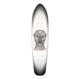 Vampire black and white Design Skateboard