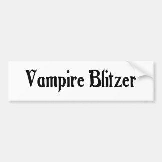 Vampire Blitzer Bumper Sticker