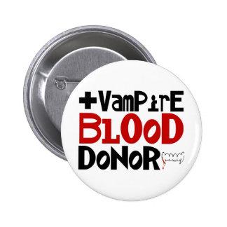 Vampire Blood Donor Pin