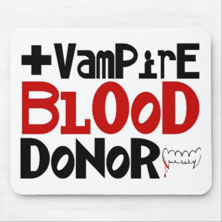 Vampire Blood Donor Mouse Pad