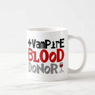Vampire Blood Donor Classic White Coffee Mug