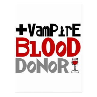 Vampire Blood Donor Postcards